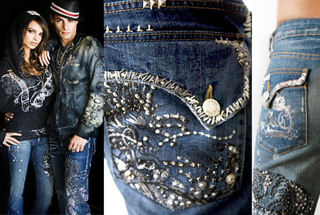 10 000 Crystals and Diamonds Tiffany Swarovski Jeans
