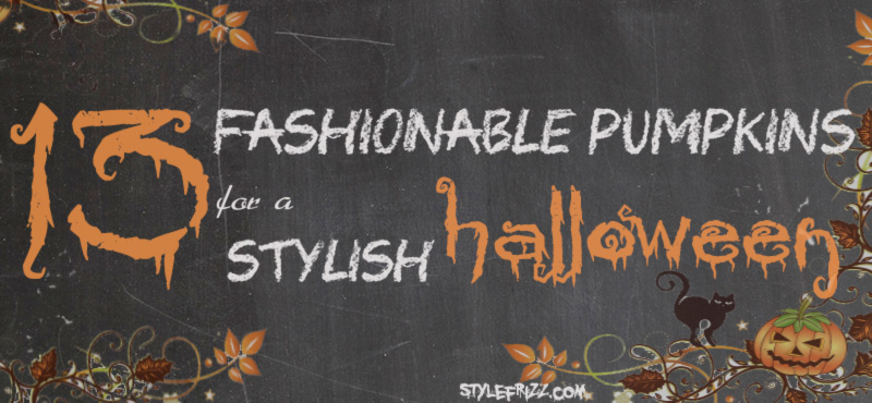 13 fashionable pumpkins for stylish halloween