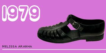 Melissa Plastic Sandal from 1979