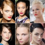 2012 Makeup Trends Red Lips Pale Lips