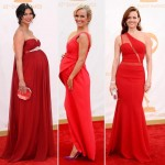 2013 Emmy Awards Morena Baccarin pregnant Brooke Anderson Carla Cugino