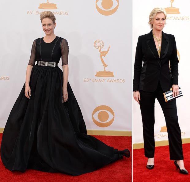 2013 Emmy Awards Red Carpet Vera Farmiga Jane Lynch