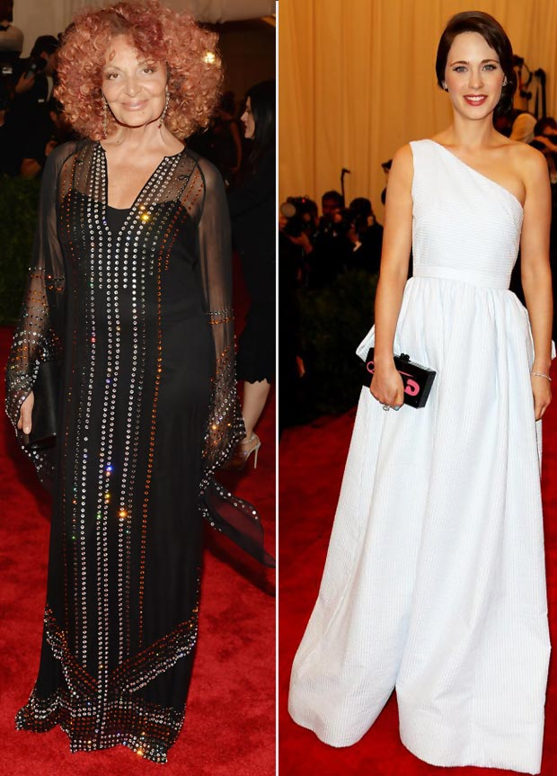2013 Met Gala Punk Fashion 50 Red Carpet Hits And Misses
