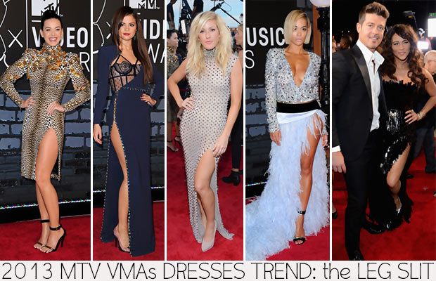 2013 MTV VMAs Red Carpet dresses trend