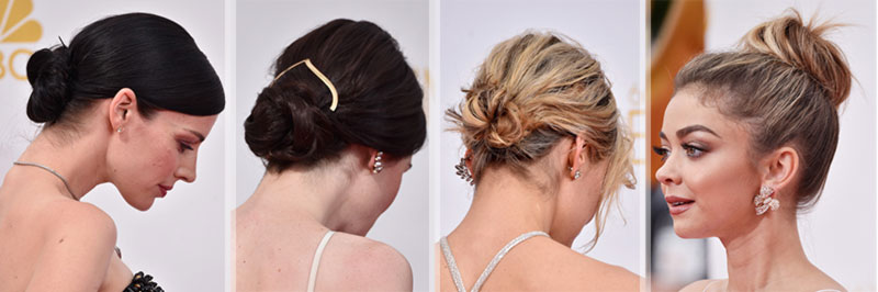2014 Emmys hairstyle buns