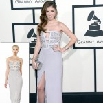 2014 Grammy Awards Anna Kendrick Azzaro dress