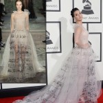 2014 Grammy Awards Katy Perry dress Valentino couture
