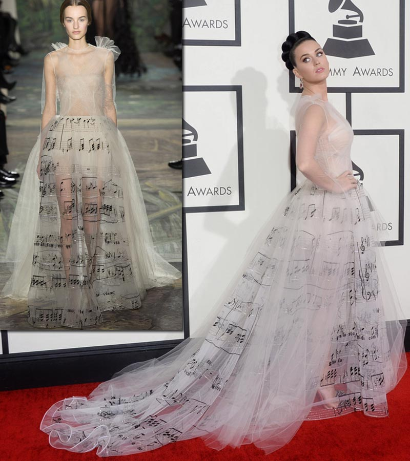 2014 Grammy Awards Dresses And Nails