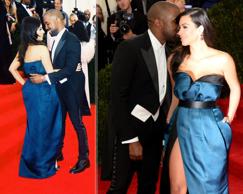LMAOOOOO: WAS KANYE WEST AND KIM KARDASHIAN DOING THE NASTY BEFORE STEPPING OUT TO 2014 MET GALA AWARDS ...?...{Evidence Inside}