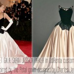2014 Met Gala Red Carpet SJP dress