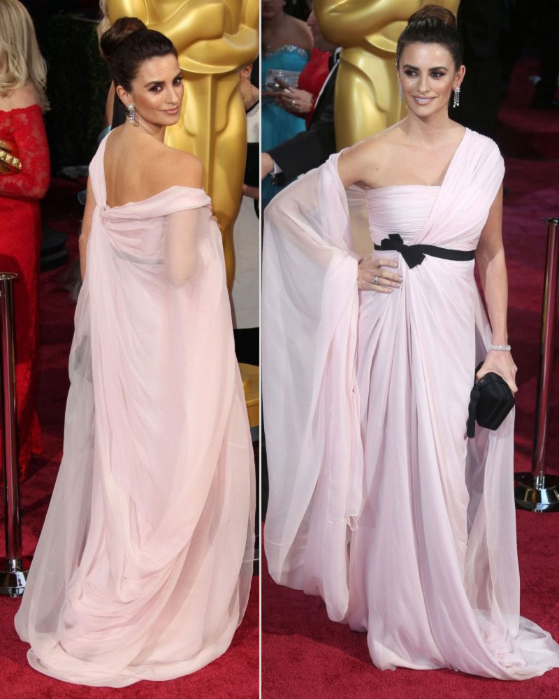2014 Oscars fashion Penelope Cruz Giambattista Valli dress