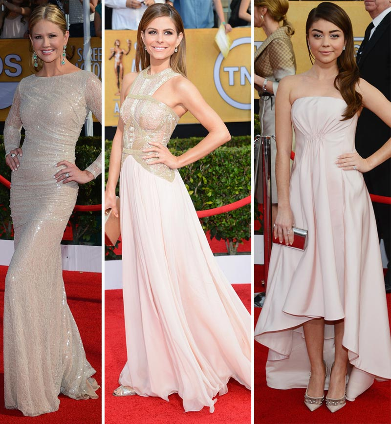 2014 SAG Awards dresses Nancy O Donnel Maria Menounous Sarah Hyland