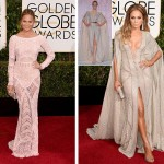 2015 Golden Globes Red Carpet dresses Zuhair Murad Chrissy Teigen JLO