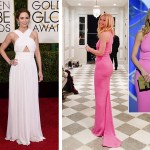 2015 Golden Globes Red Carpet Michael Kors dresses Emily Blunt Gwyneth Paltrow