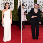 2015 Golden Globes Red Carpet Narciso Rodriguez Julia Louis Dreyfus Lorde