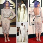 2015 Grammy Awards fashion Katy Perry dresses