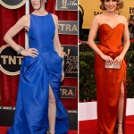 2015 SAG Awards Red Carpet Julianna Margulies Sophia Bush