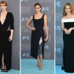 2016 critics choice awards dresses Bryce Dallas Howard Emmy Rossum Jennifer Jason Leigh