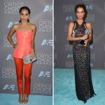 2016 critics choice awards red carpet dresses Zoe Kravitz Alicia Vikander