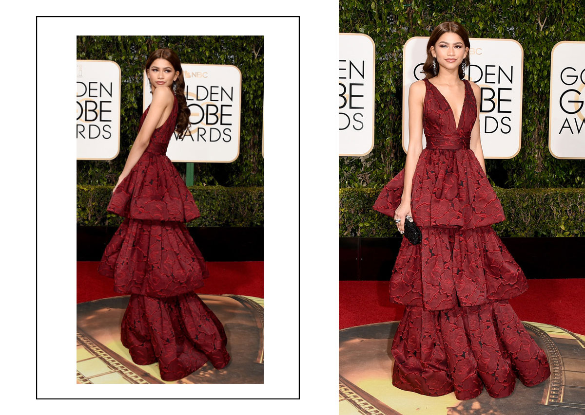 2016 Golden Globes Red Carpet best dressed Zendaya Coleman