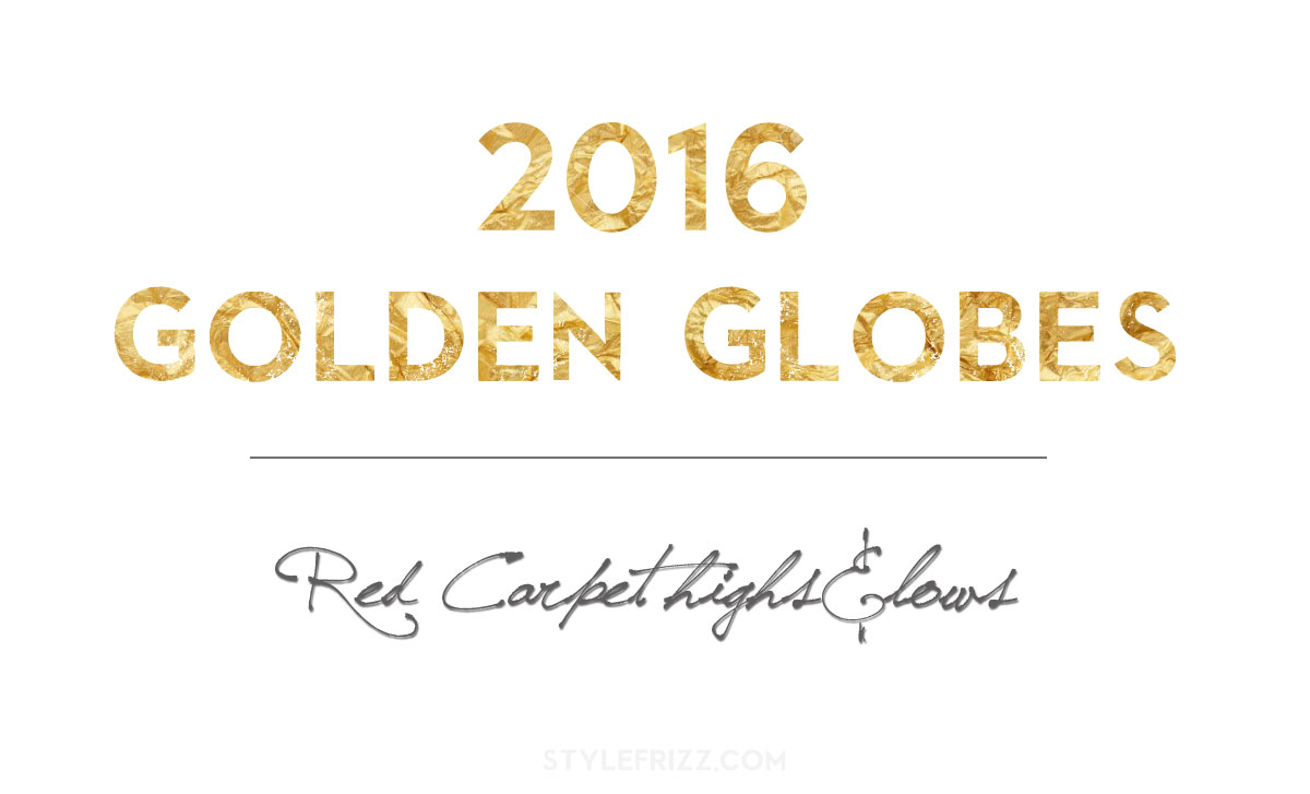 2016 Golden Globes: Red Carpet's 9 Best And Worst