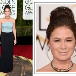 2016 Golden Globes Red Carpet makeup Maura Tierney