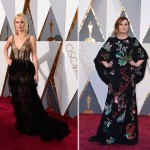 2016 Oscars Red Carpet dresses Jennifer Lawrence Amy Poehler