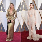 2016 Oscars Red Carpet dresses Margot Robbie Rooney Mara