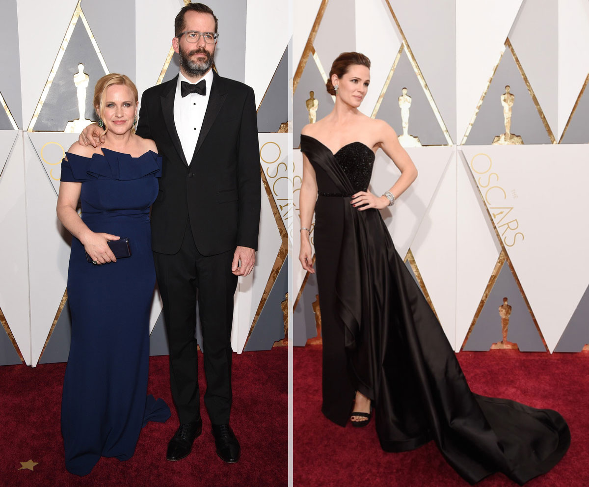 2016 Oscars Red Carpet dresses Patricia Arquette Jennifer Garner