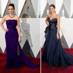 2016 Oscars Red carpet dresses Tina Fey Sofia Vergara