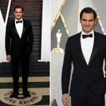 2016 Oscars Red Carpet Roger Federer