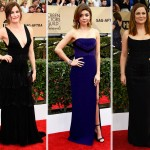2016 SAG Awards Red Carpet dresses Kathryn Hahn Sarah Hyland Amy Poehler