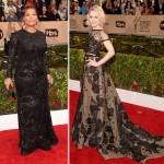 2016 SAG Awards Red Carpet dresses Queen Latifah Rachel McAdams
