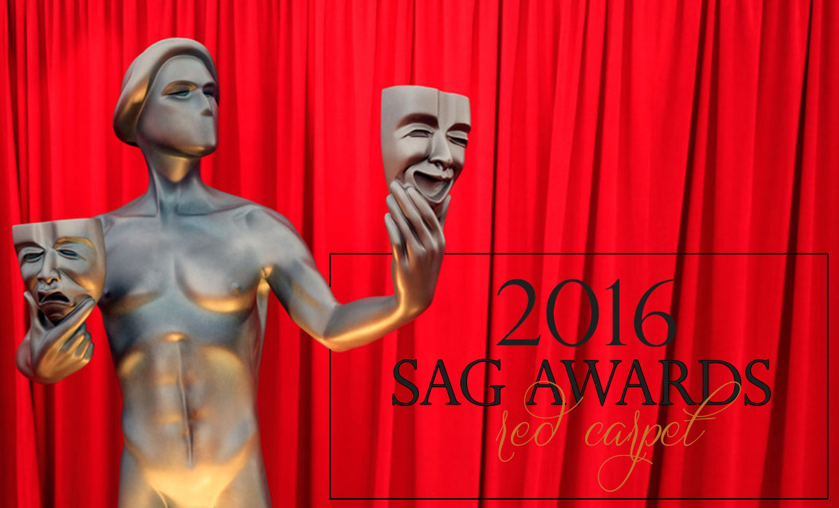 2016 SAG awards Red Carpet