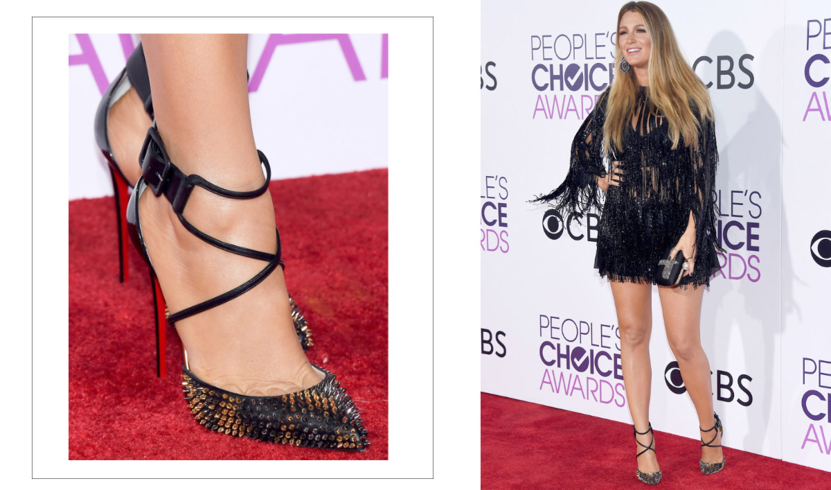 2017 People s Choice Awards Blake Lively Louboutins