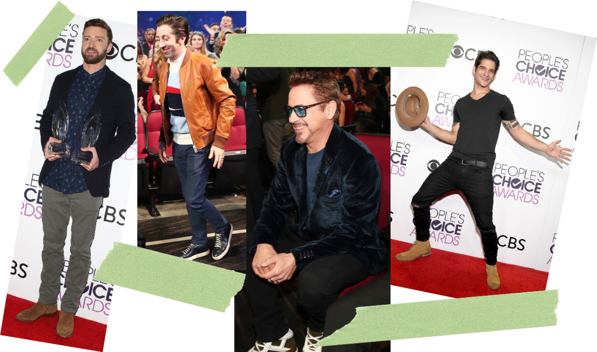 2017 People s Choice Awards men style