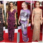 2017 sag awards fashion trends graphic dresses