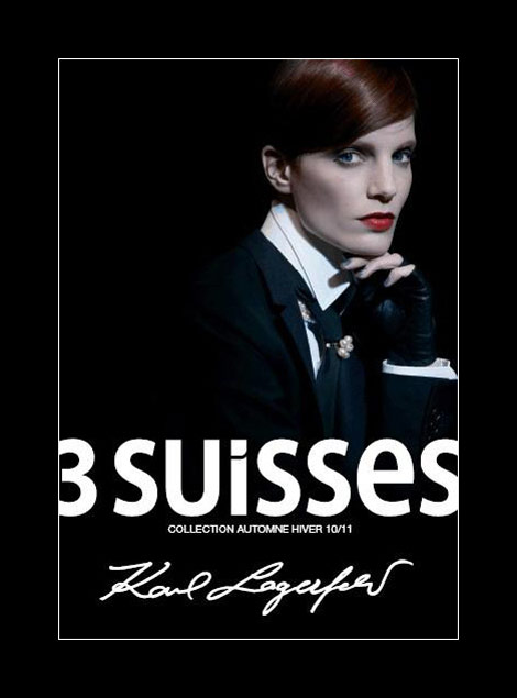 3 Suisses Karl Lagerfeld cover