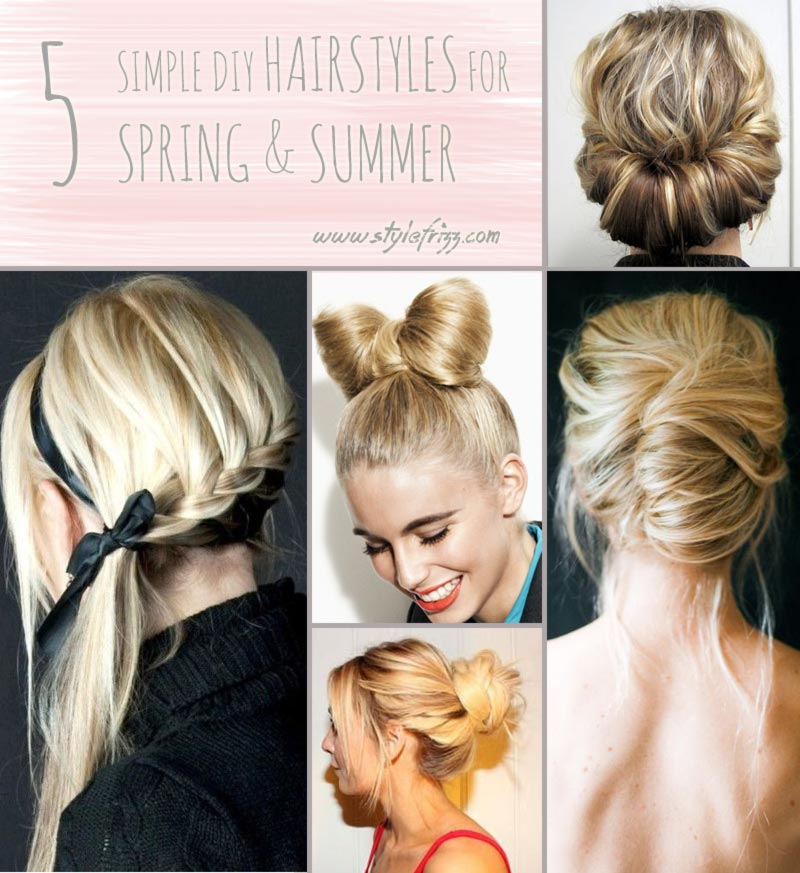 Hairstyles For Short Hair Diy : Youll Need These 5 Hair Tutorials For Spring And Summer! - StyleFrizz