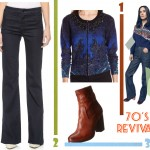 70s outfit inspired by Jennifer Connelly Vuitton