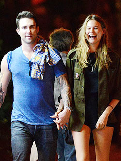 Adam Levine's New Angel. Ahem Girlfriend: Behati Prinsloo!