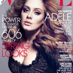 Adele Vogue March 2012 cover