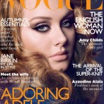 Adele Vogue UK October 2011 cover