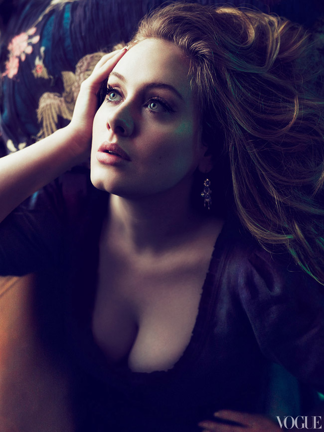 Adele Vogue US March 2012 picture by Mert and Marcus