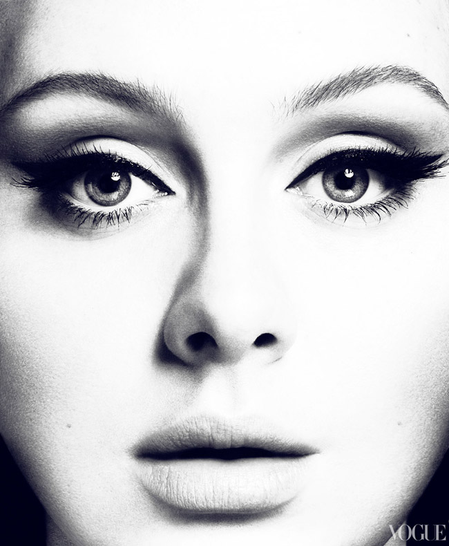 Adele Vogue US March