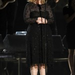 Adele on stage 2012 Grammy Awards concert