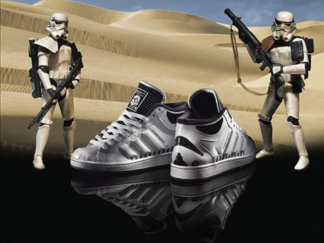 Adidas Brings Star Wars To A Street Corner Near You