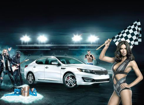 Adriana Lima's New Super Bowl Ad For Kia