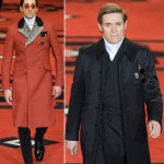 Adrien Brody Willem Dafoe Prada Men Fall 2012