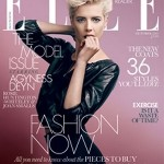 Agyness Deyn Elle UK October 2011 cover